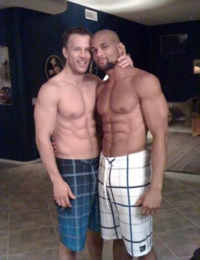 shaun-t-shirtless-husband-abs
