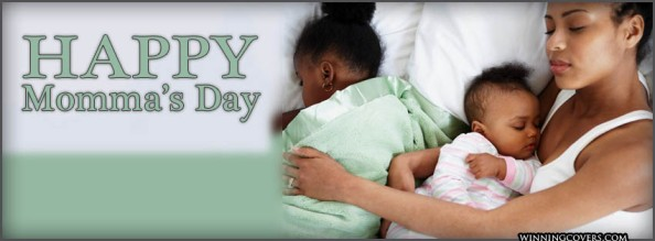 holidays events the best top free tumblr ethnic african american mothers mommas day mom in bed with daughters lime green facebook timeline cover banner for fb profile
