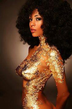 African Goddess of Wellness